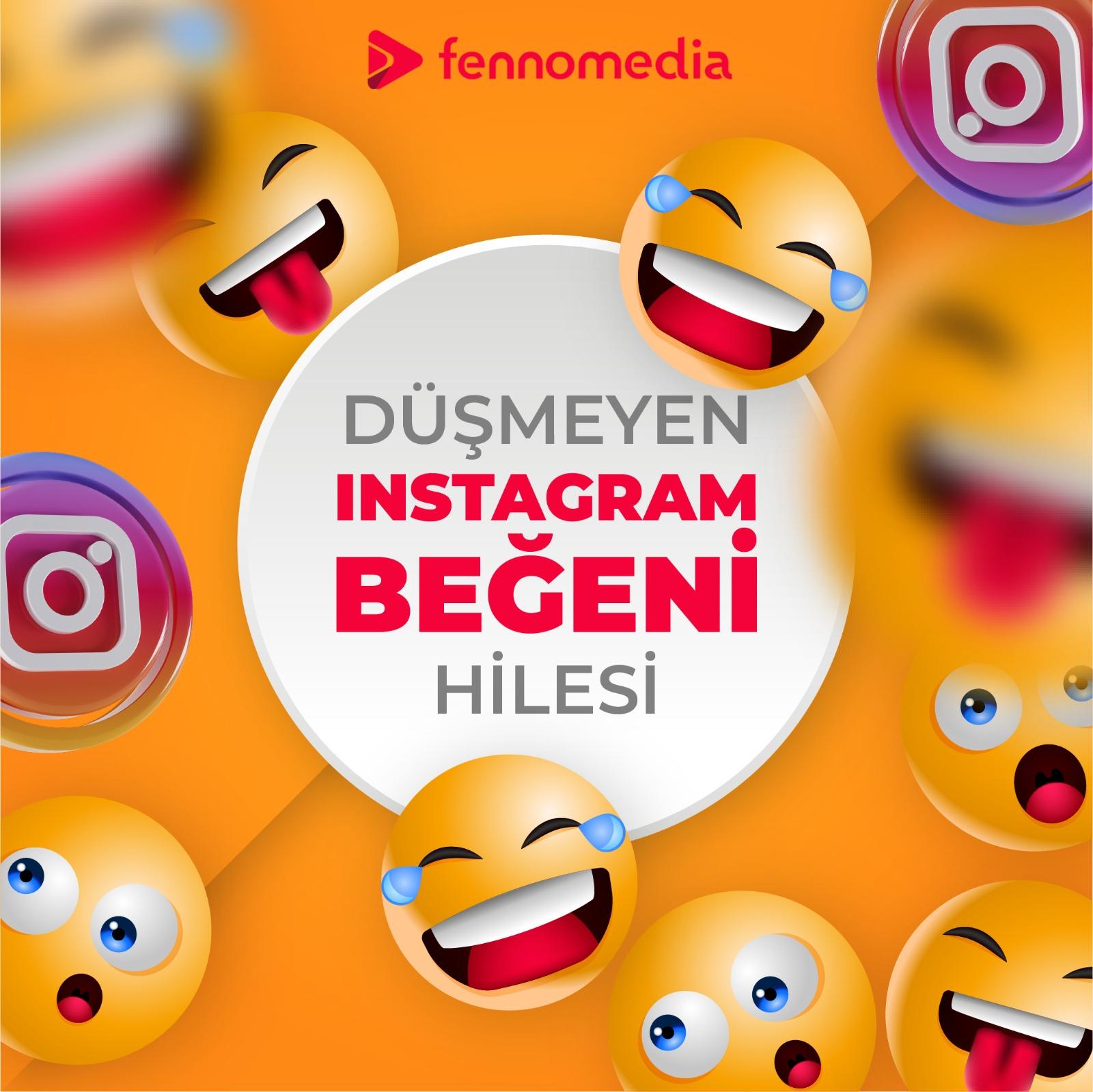 Düşmeyen Instagram beğeni hilesi