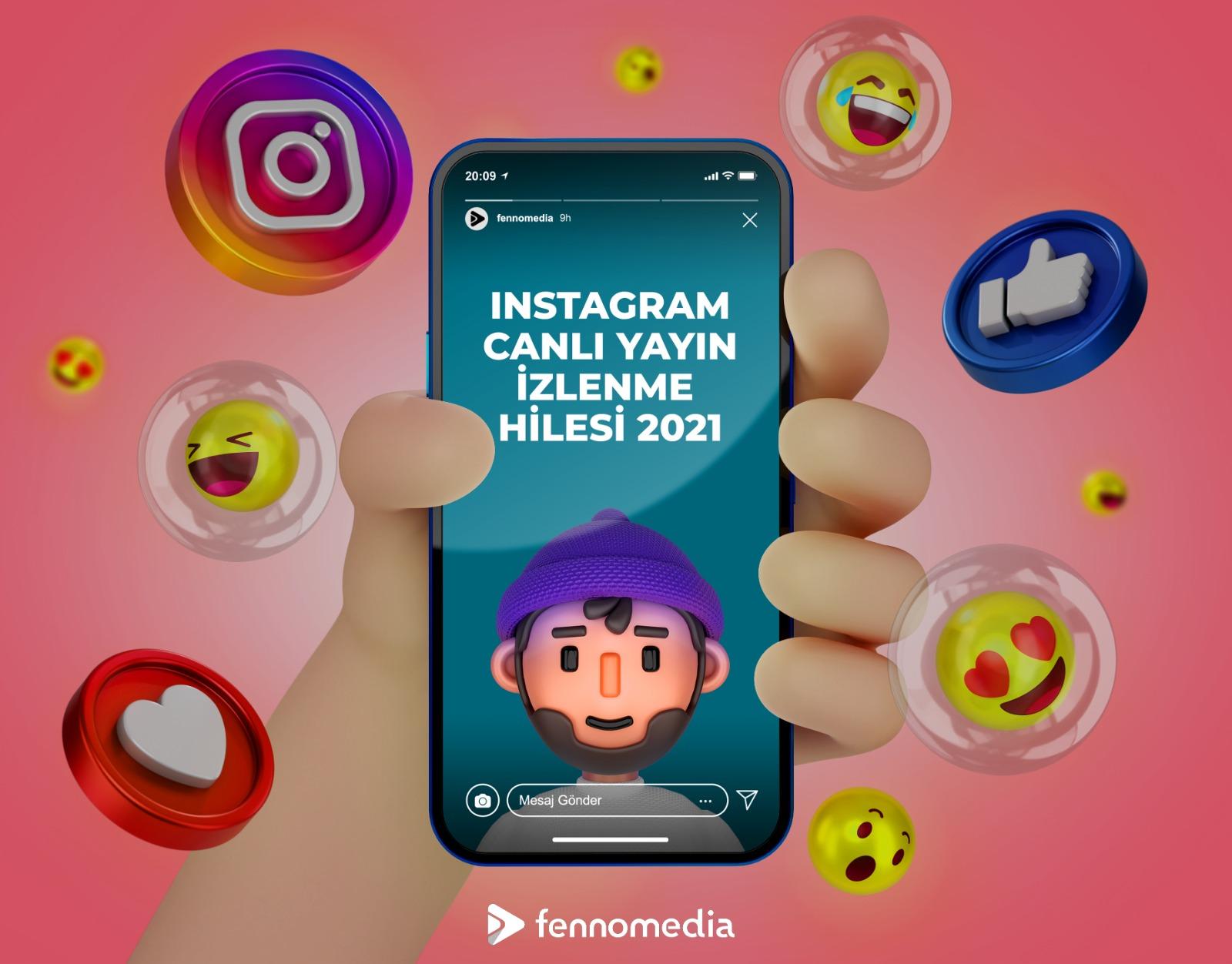 Instagram canlı yayın izlenme hilesi 2021