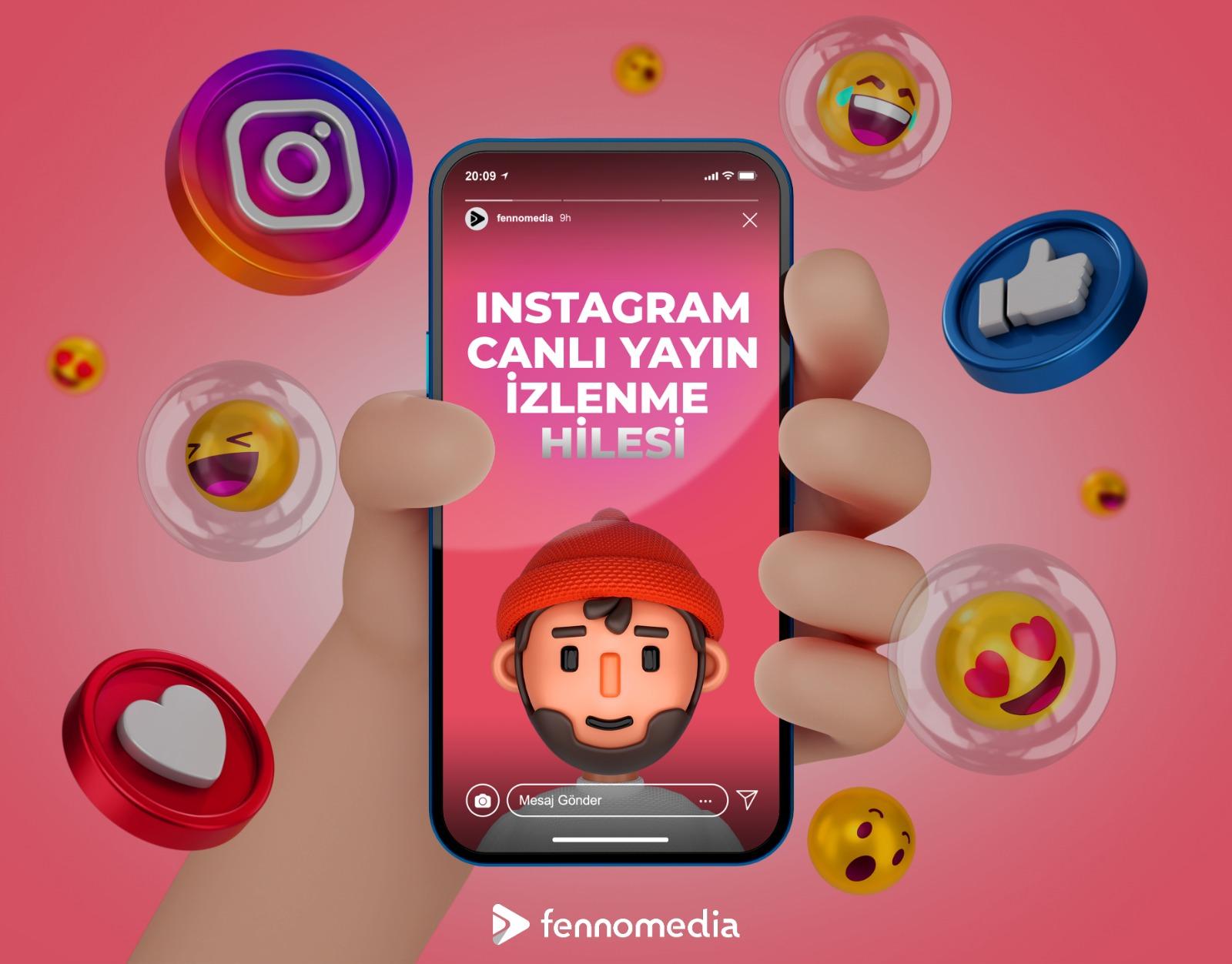 Instagram canlı yayın izlenme hilesi