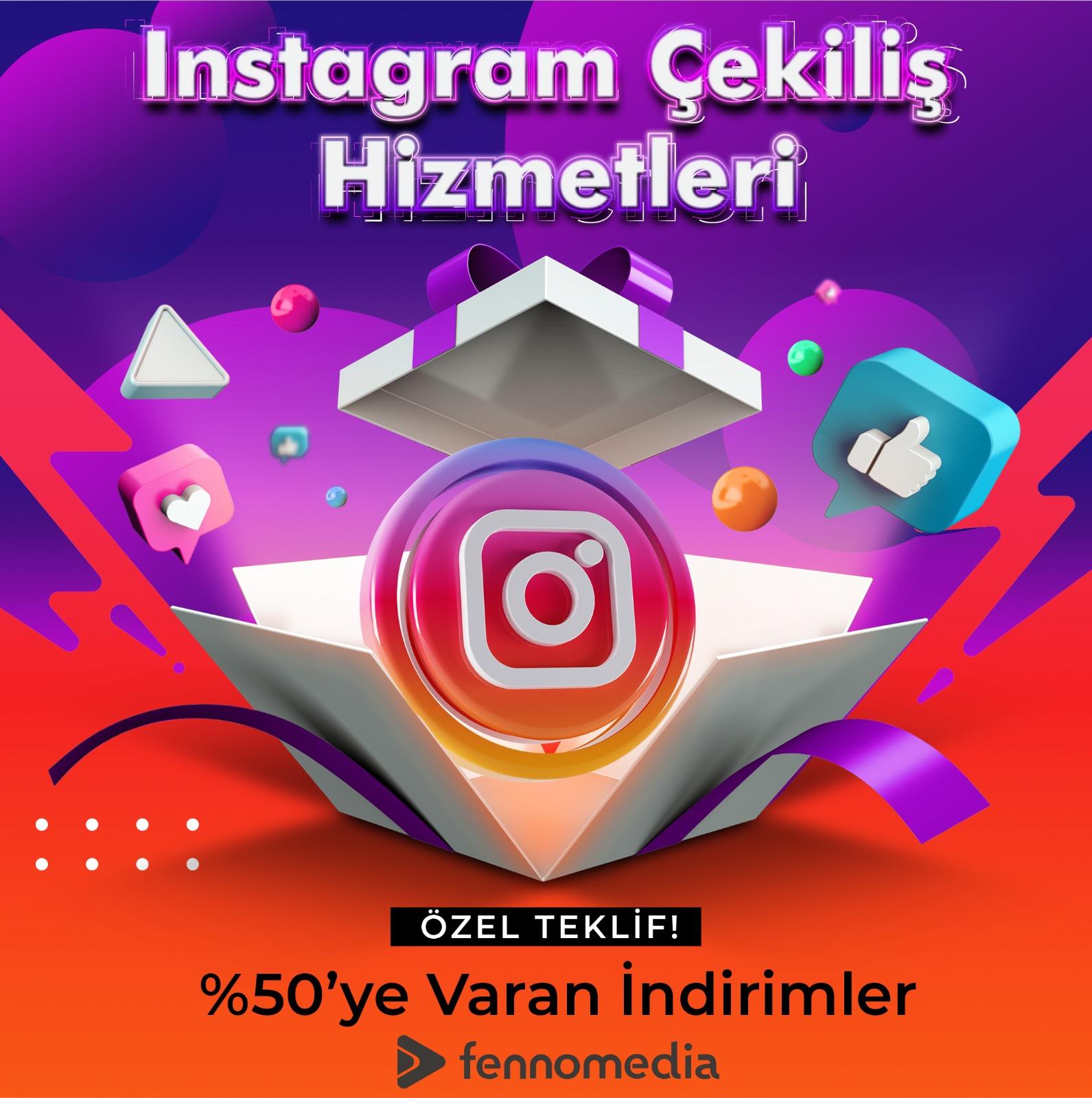 Instagram çekiliş takipçi satın al