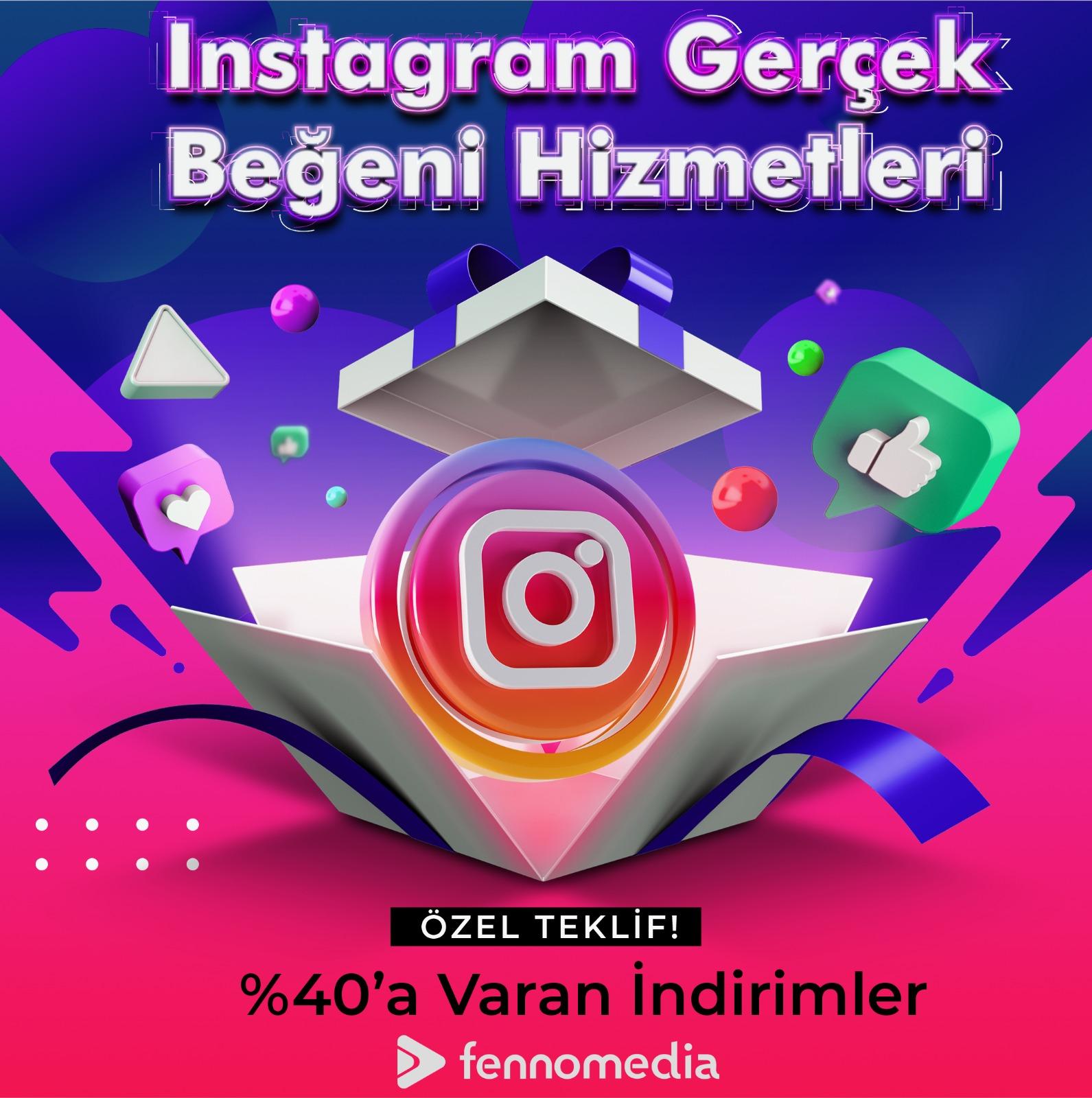 Instagram gerçek beğeni satın al