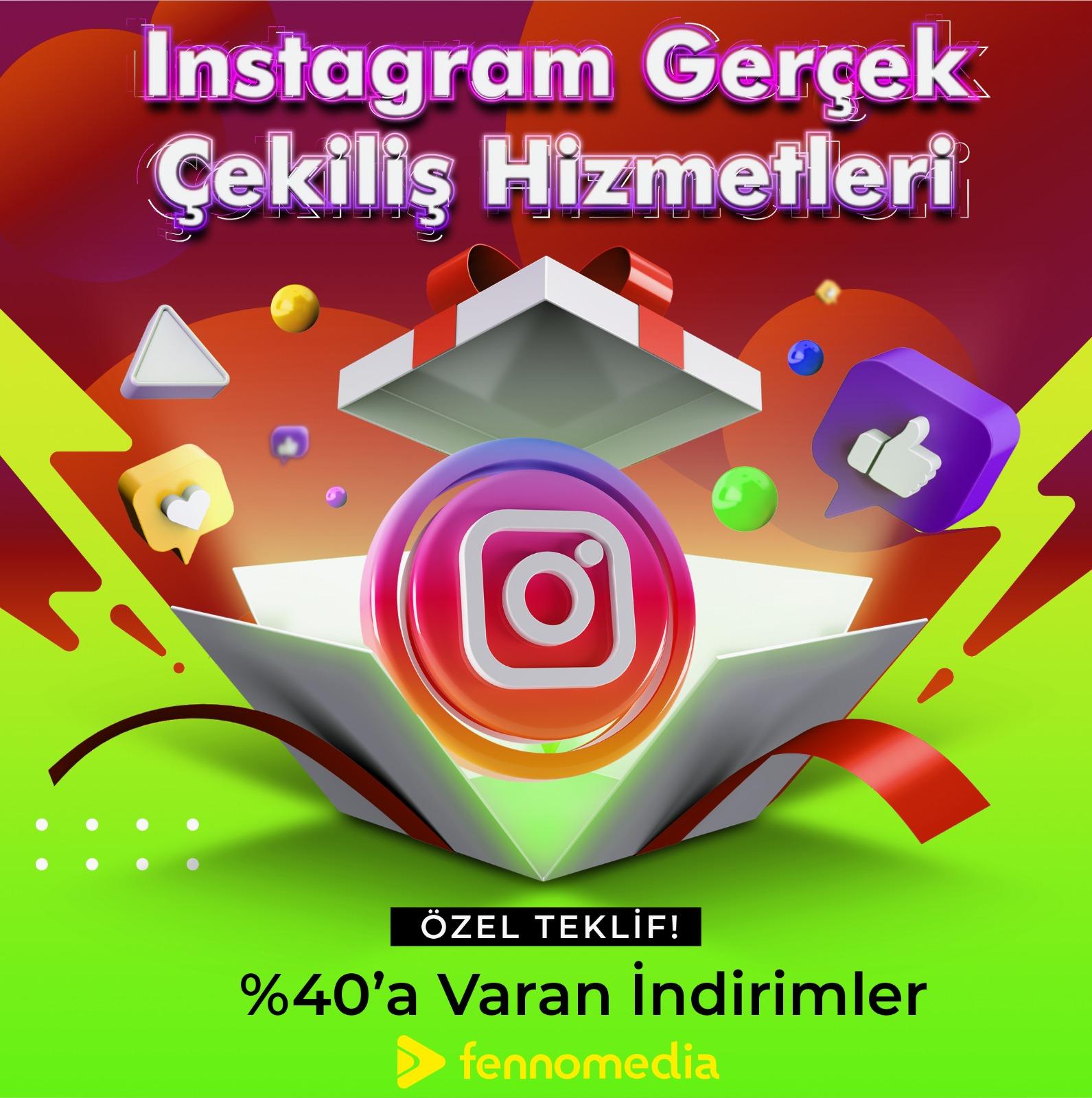 Instagram gerçek çekiliş takipçi
