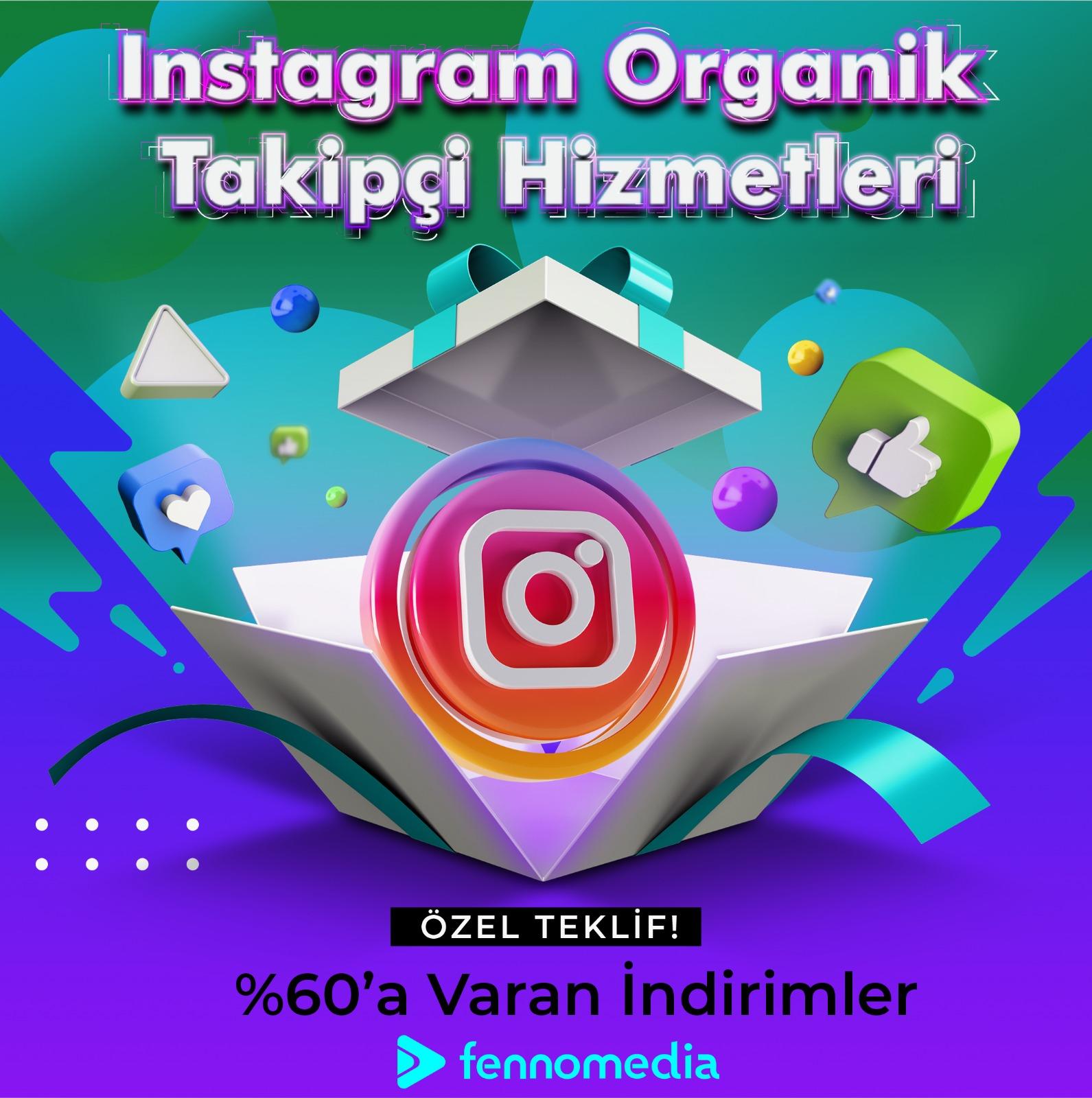 Instagram organik takipçi satın al