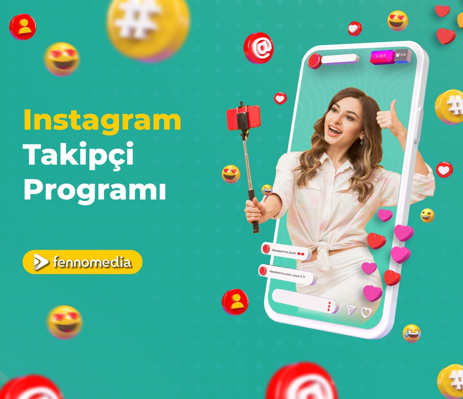 Instagram takipçi programı