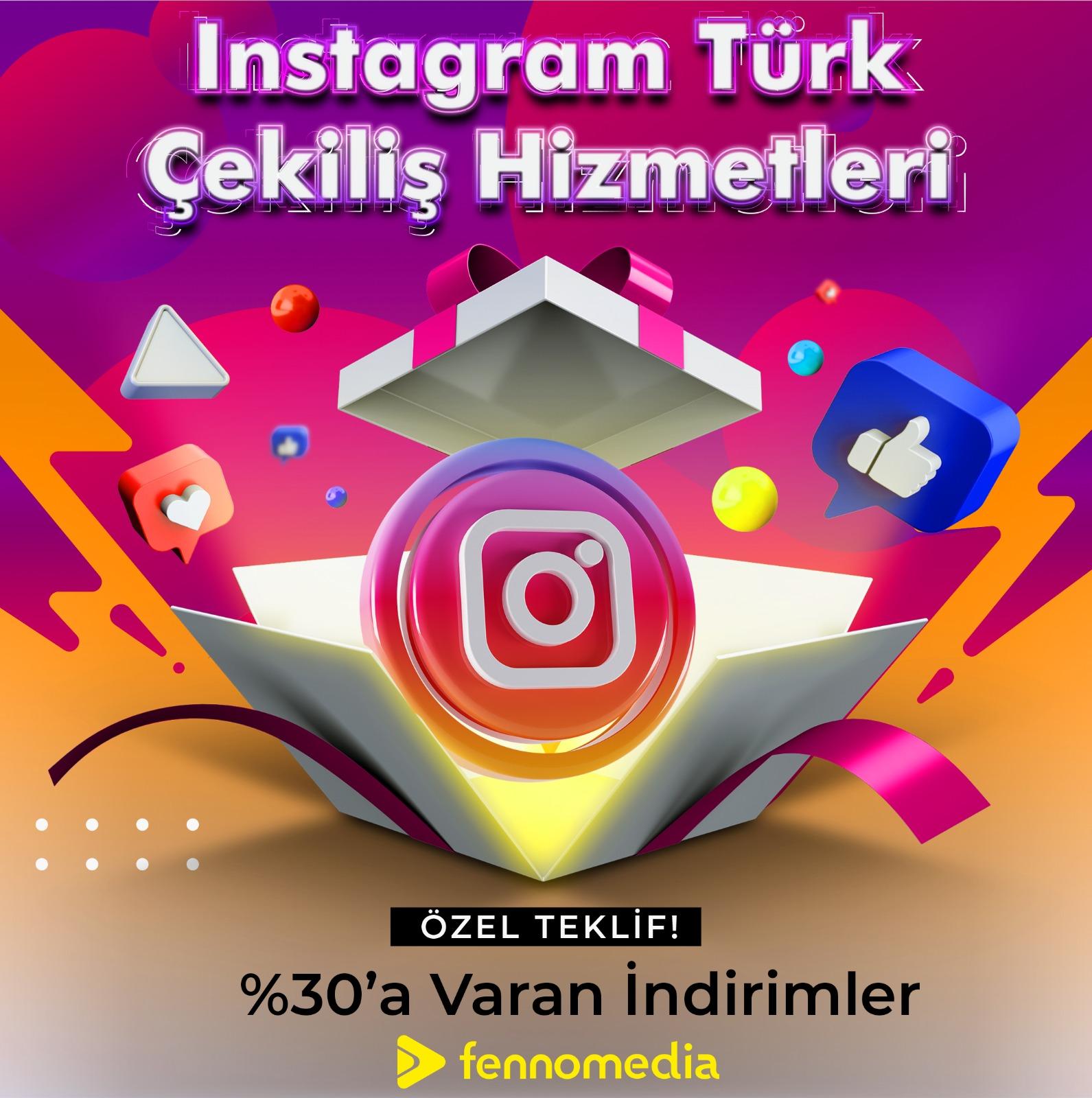 Instagram Türk çekiliş takipçi satın al