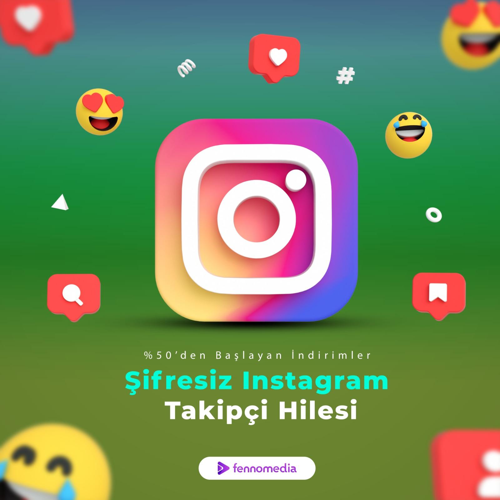 Şifresiz instagram takipçi hilesi
