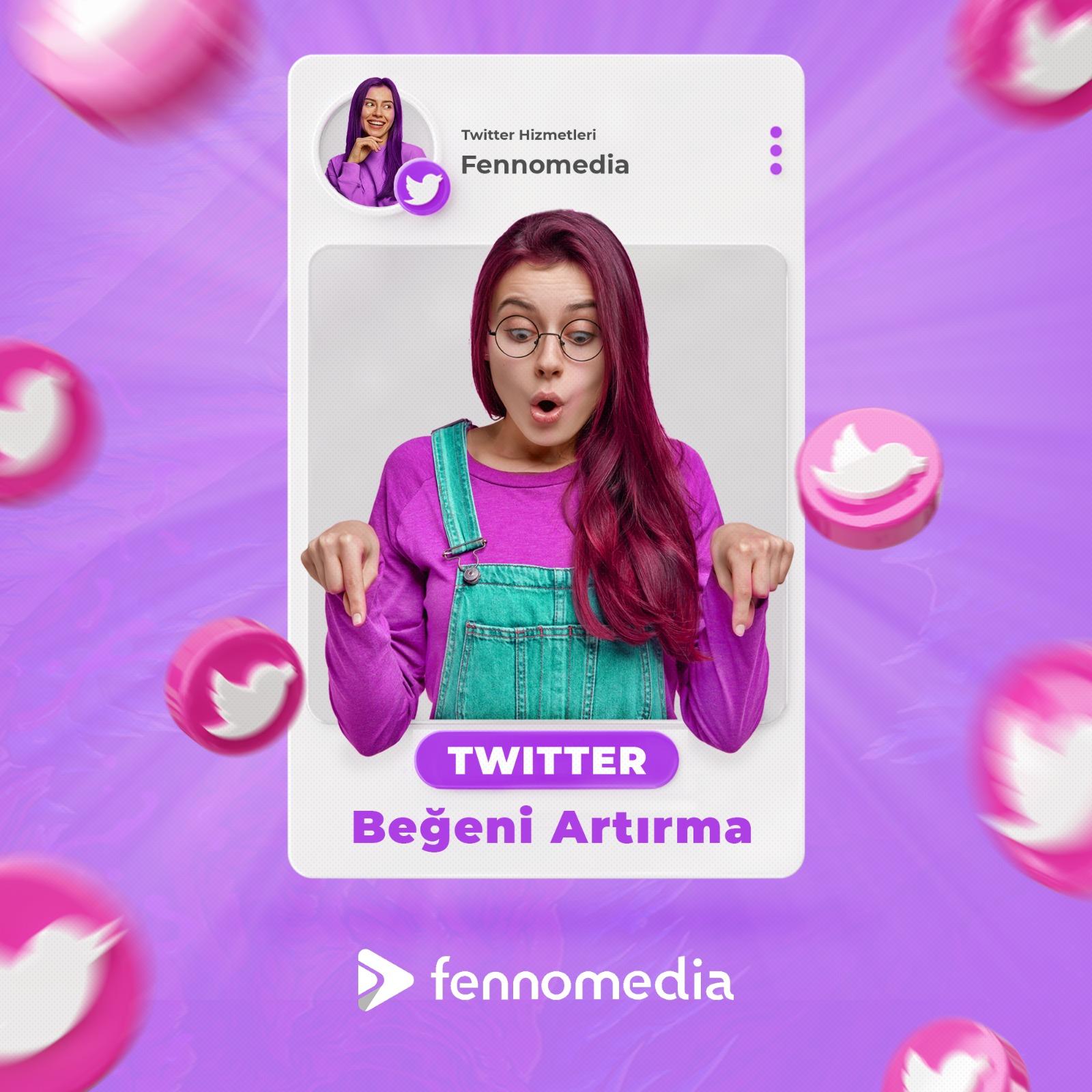 Twitter beğeni artırma