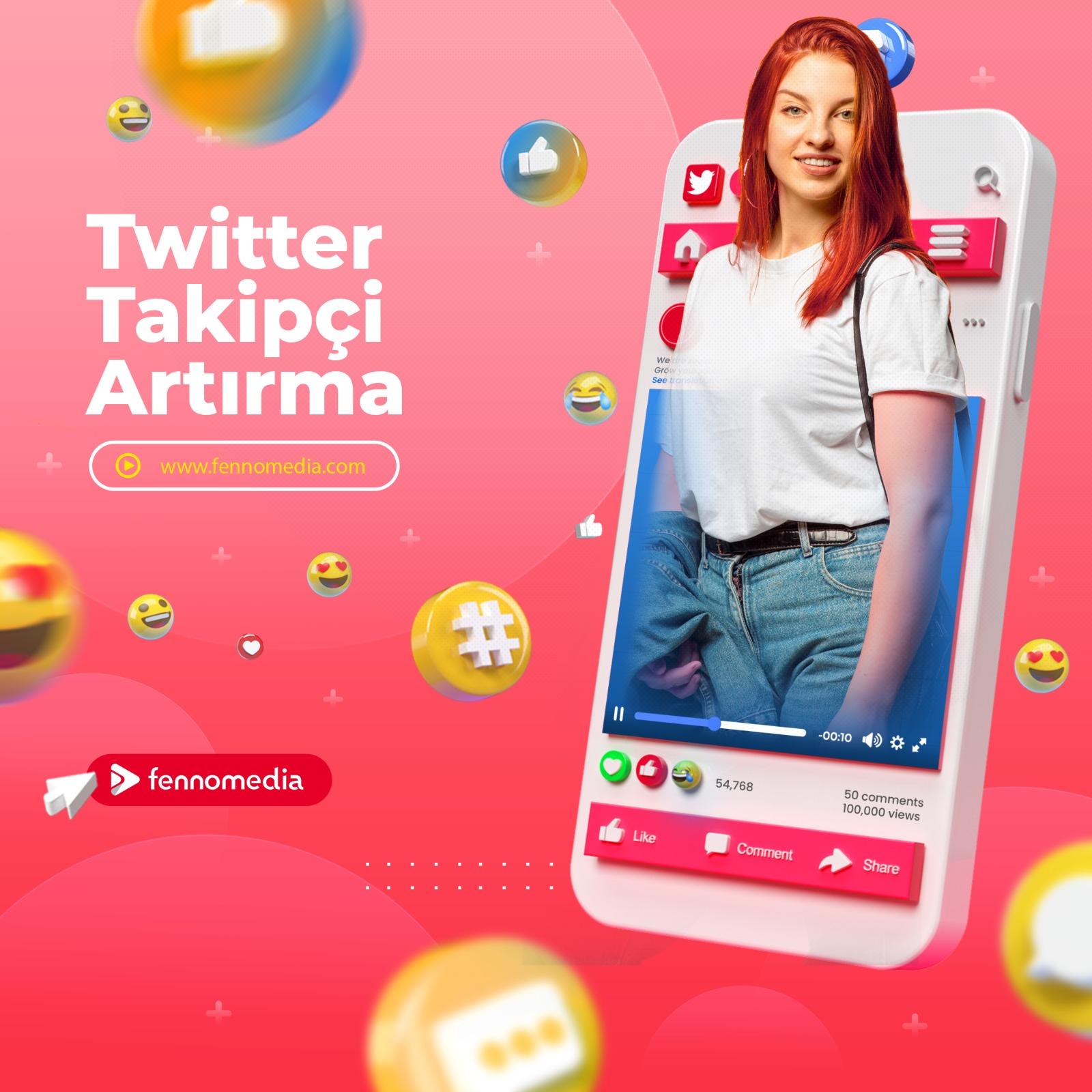 Twitter takipçi artırma