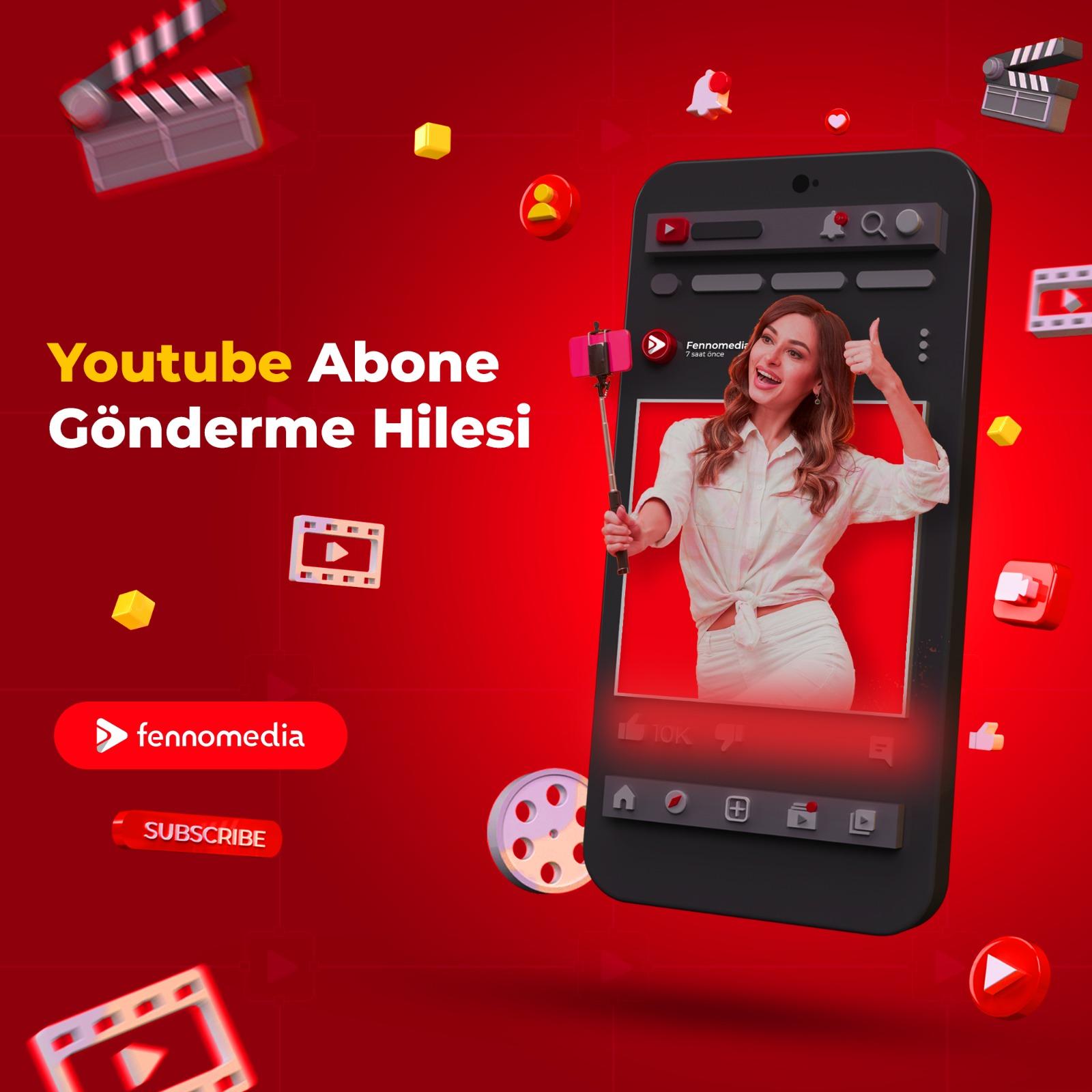 Youtube abone gönderme hilesi