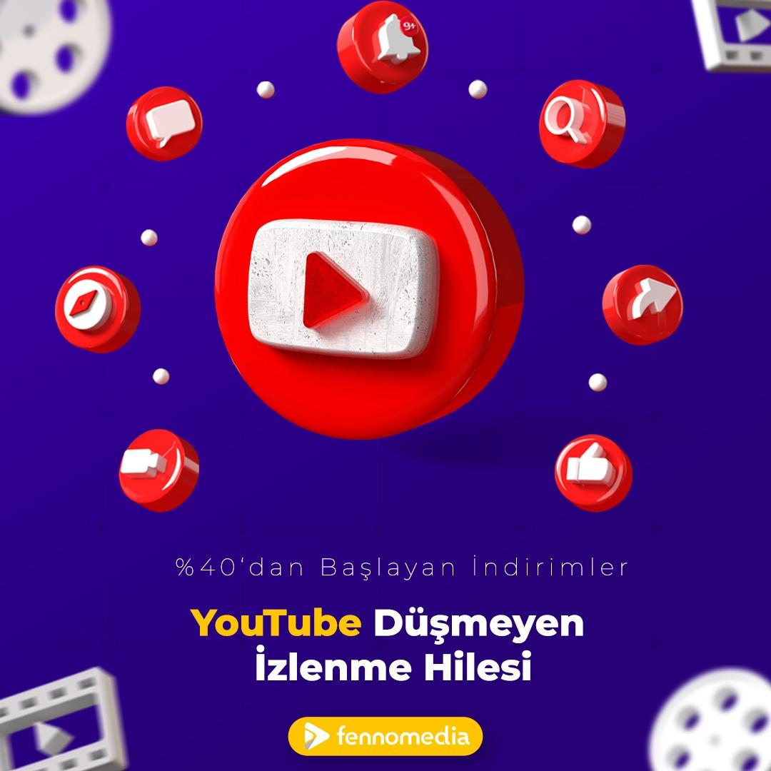 Youtube düşmeyen izlenme hilesi