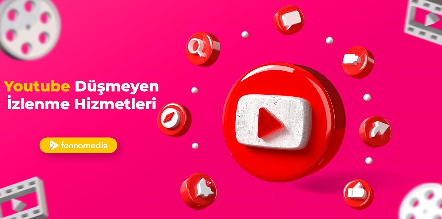 Youtube düşmeyen izlenme satın al