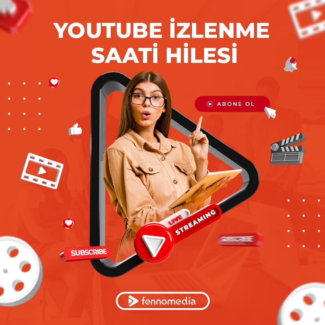 Youtube izlenme saati hilesi