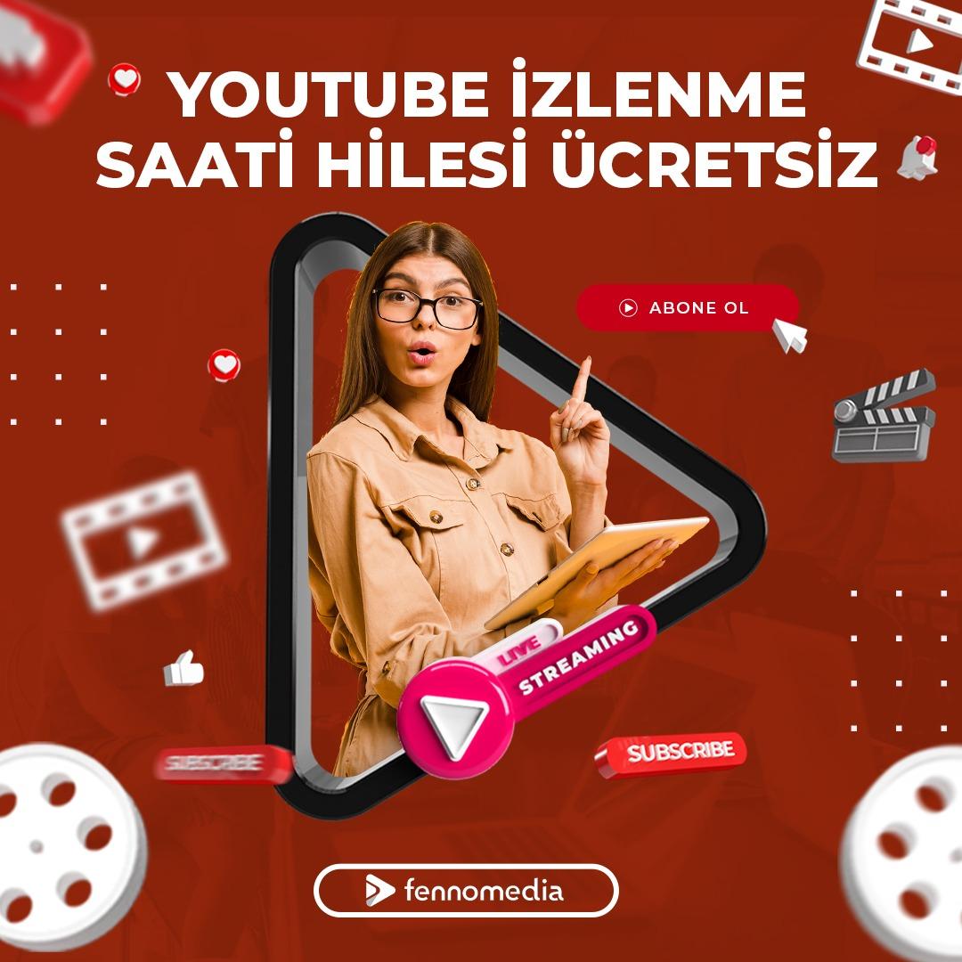 Youtube izlenme saati hilesi ücretsiz