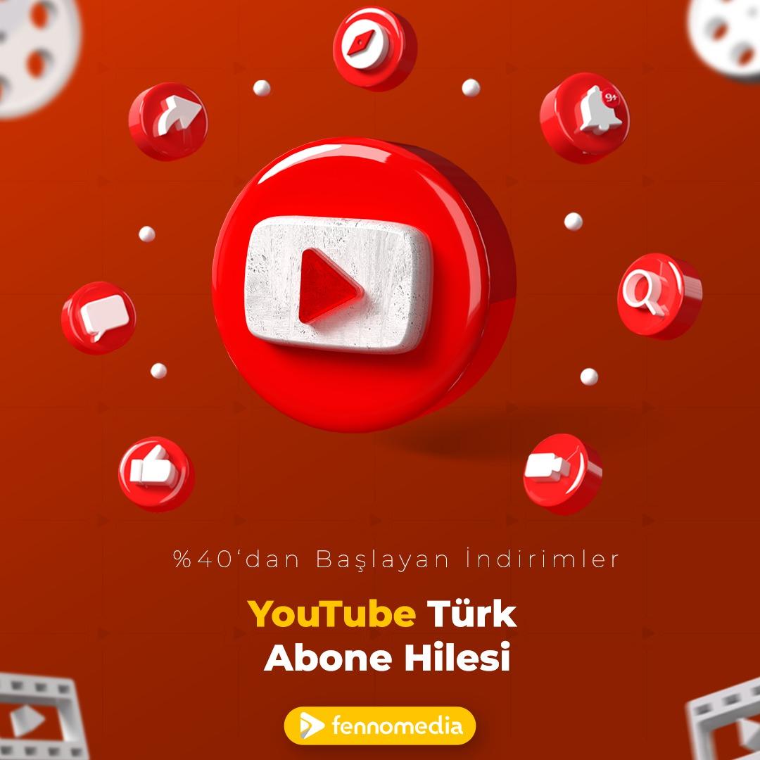 Youtube Türk abone hilesi