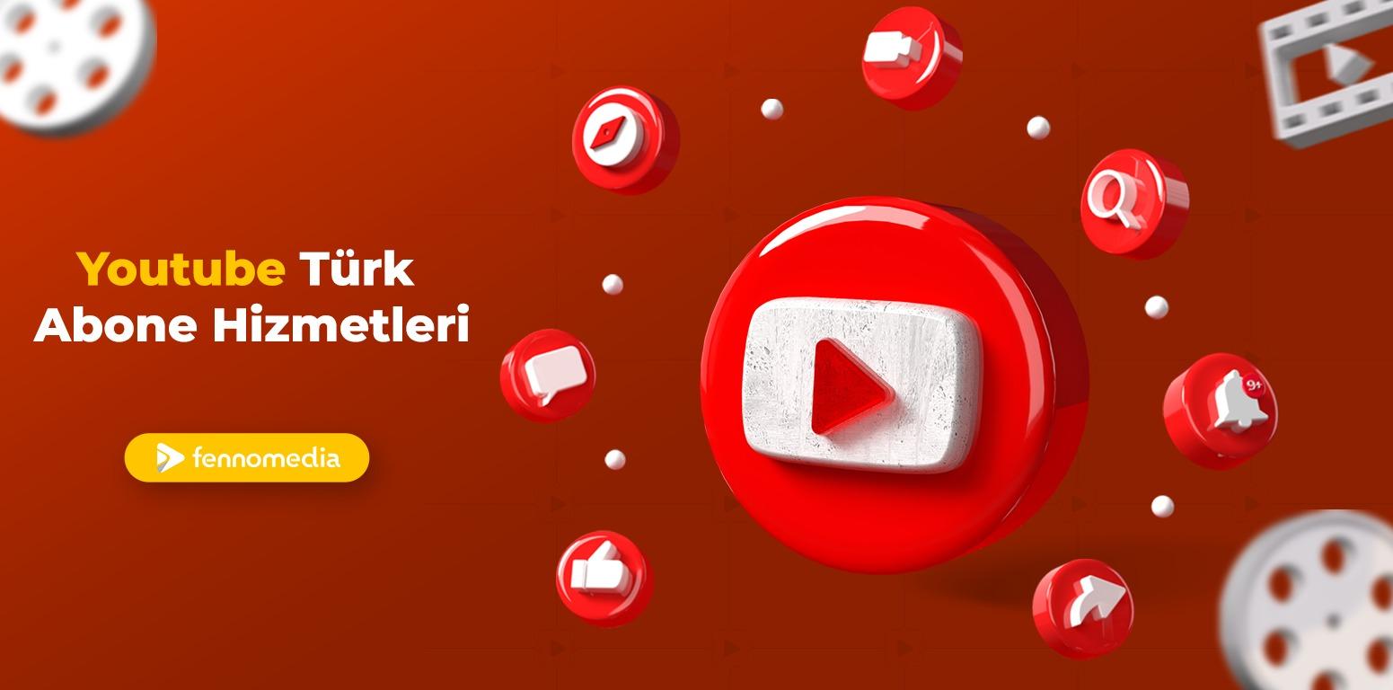 Youtube Türk abone satın al