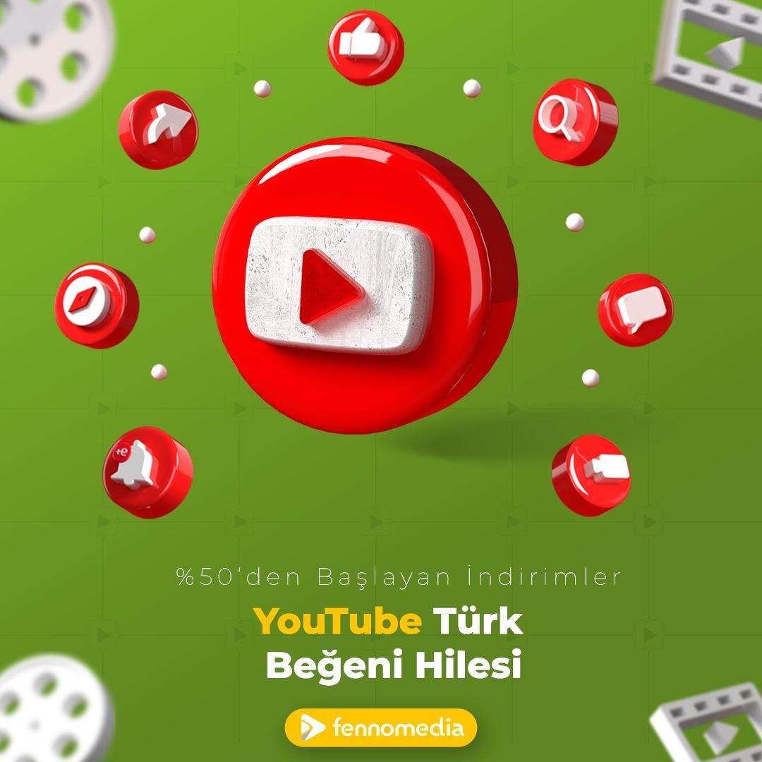 Youtube Türk beğeni hilesi